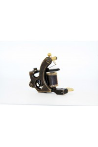 Brass Frame Coil Tattoo Machine